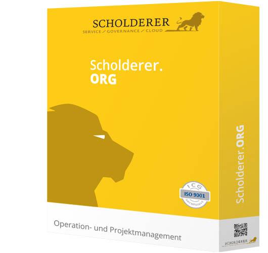 Scholderer.ORG - Operation- und Projektmanagement in einer Hand