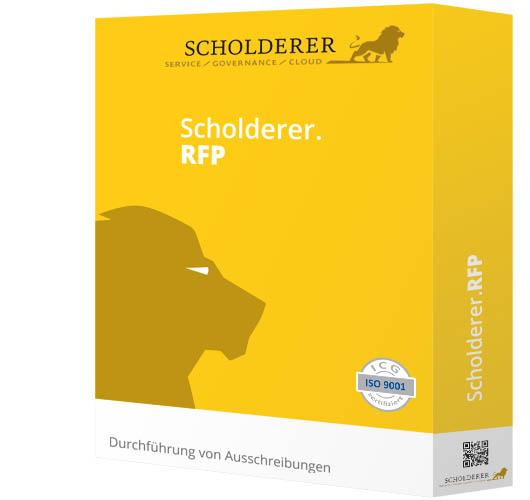 Scholderer.RFP - Durchführung von Ausschreibungen