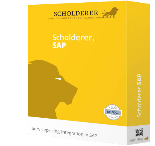 Scholderer.SAP - Servicepricing-Integration in SAP