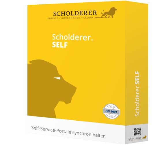 Scholderer.SELF - Self-Service-Portale synchron halten