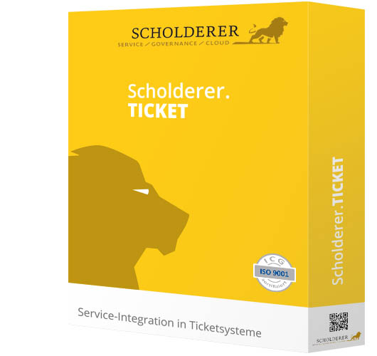 Scholderer.TICKET - Service-Integration in Ticketsysteme