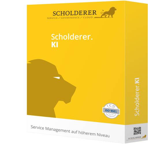 Scholderer.KI - Service Management auf höherem Niveau